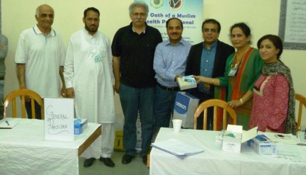 PPW donated Glucometers to Medical Wing